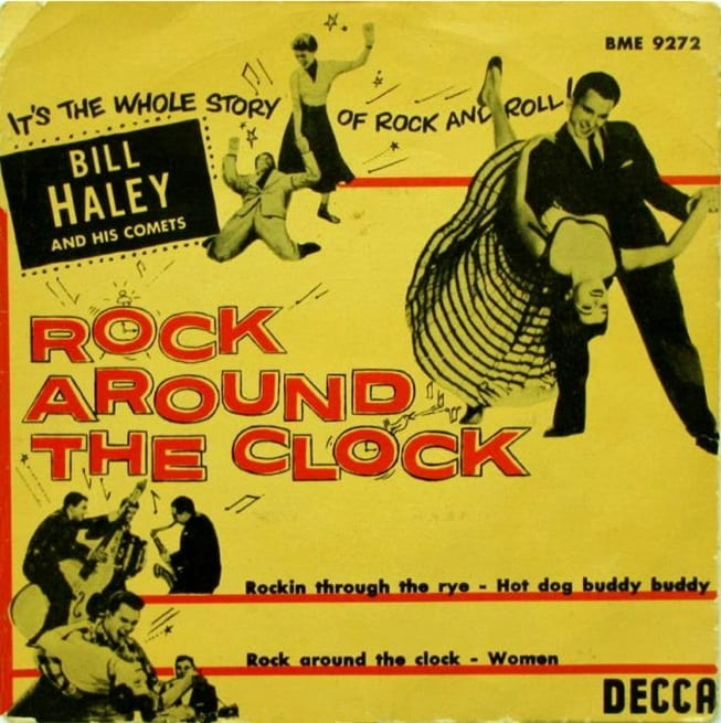 Singel Rock around the clock Bill Haley