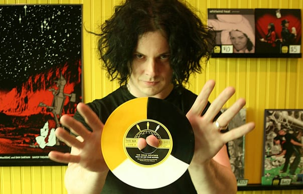 Jack White a vydavateľstvo Third man records