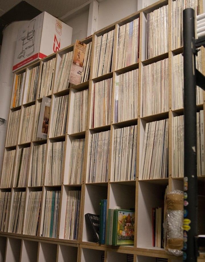 Všetky vinylové plane vydané Opusom