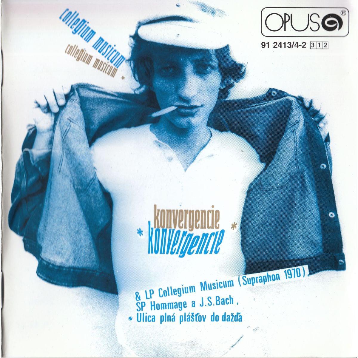 Obal albumu Konvergencie Collegium Musicum