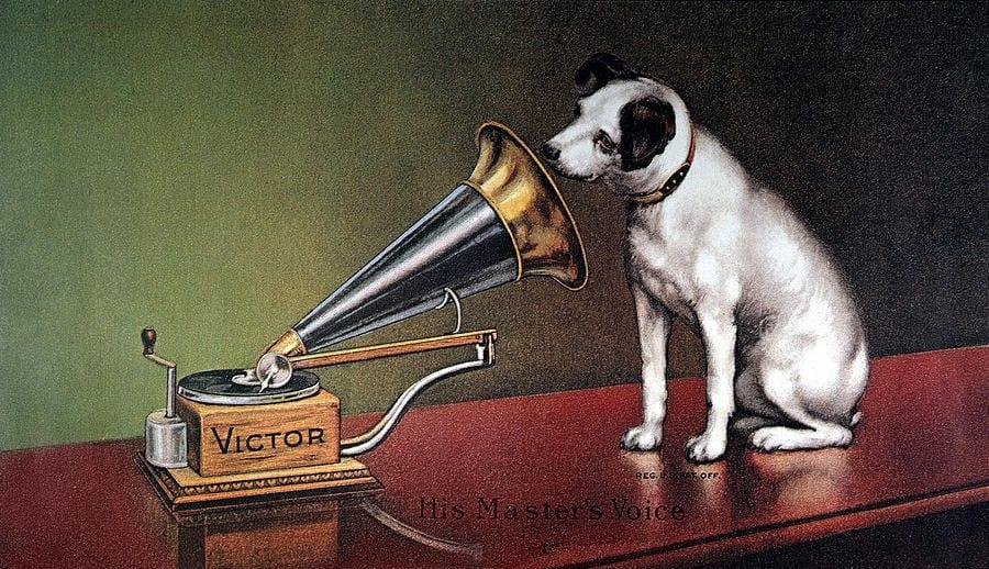 Label vydavateľstva RCA Victor