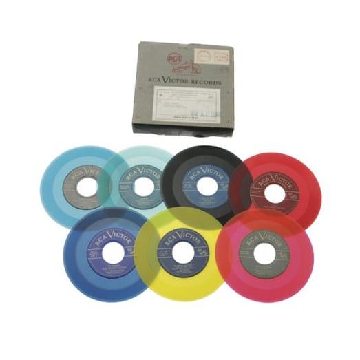 Farebne rozlíšené single RCA Victor